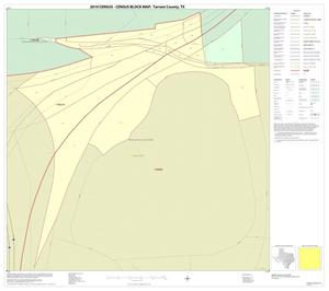 Primary view of object titled '2010 Census County Block Map: Tarrant County, Inset C01'.