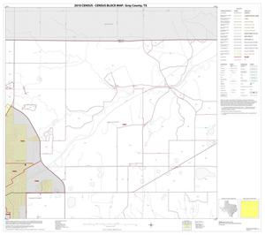 Primary view of object titled '2010 Census County Block Map: Gray County, Block 2'.