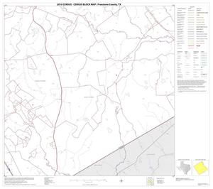 Primary view of object titled '2010 Census County Block Map: Freestone County, Block 14'.
