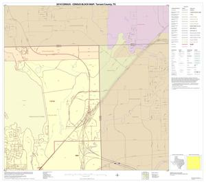 Primary view of object titled '2010 Census County Block Map: Tarrant County, Block 8'.