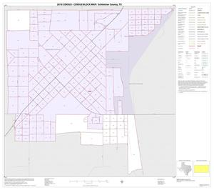 Primary view of object titled '2010 Census County Block Map: Schleicher County, Inset A01'.