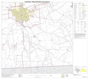Primary view of object titled '2010 Census County Block Map: Camp County, Block 4'.