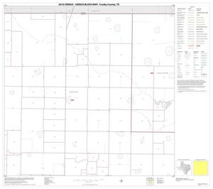 Primary view of object titled '2010 Census County Block Map: Crosby County, Block 2'.