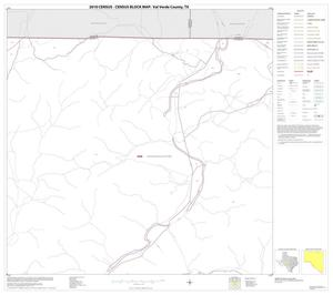 Primary view of object titled '2010 Census County Block Map: Val Verde County, Block 8'.