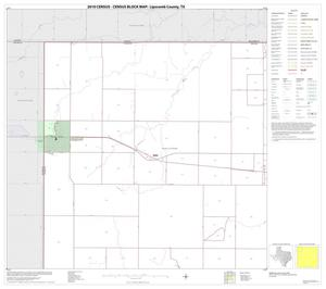 Primary view of object titled '2010 Census County Block Map: Lipscomb County, Block 1'.