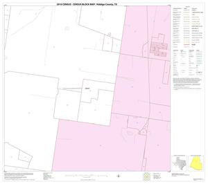 Primary view of object titled '2010 Census County Block Map: Hidalgo County, Block 33'.