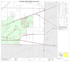 Primary view of object titled '2010 Census County Block Map: Potter County, Block 16'.