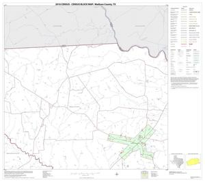 Primary view of object titled '2010 Census County Block Map: Madison County, Block 4'.