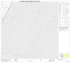 Primary view of object titled '2010 Census County Block Map: Travis County, Block 38'.