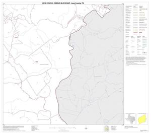 Primary view of object titled '2010 Census County Block Map: Leon County, Block 16'.