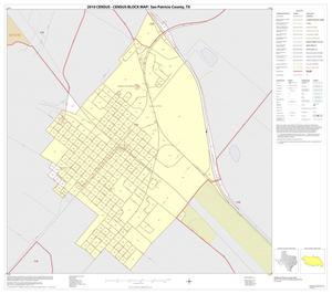 Primary view of object titled '2010 Census County Block Map: San Patricio County, Inset A01'.