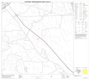Primary view of object titled '2010 Census County Block Map: Walker County, Block 7'.