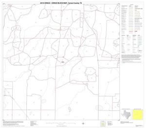 Primary view of object titled '2010 Census County Block Map: Carson County, Block 6'.