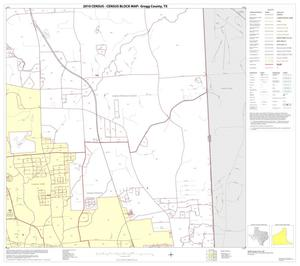 Primary view of object titled '2010 Census County Block Map: Gregg County, Block 6'.