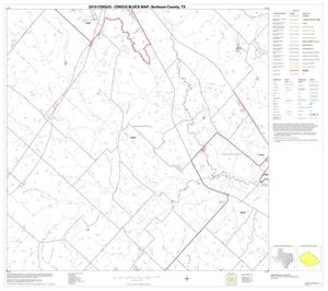 Primary view of object titled '2010 Census County Block Map: Burleson County, Block 12'.