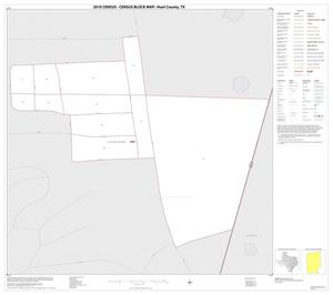 Primary view of object titled '2010 Census County Block Map: Hunt County, Inset K01'.
