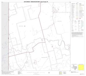 Primary view of object titled '2010 Census County Block Map: Jones County, Block 9'.