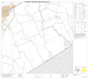 Primary view of object titled '2010 Census County Block Map: Milam County, Block 23'.