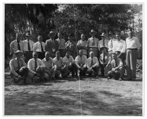Primary view of object titled '[Group of Men]'.