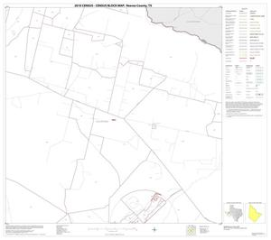 Primary view of object titled '2010 Census County Block Map: Reeves County, Block 26'.