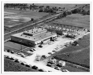 Primary view of object titled '[Aerial view of Acheson Plant-Later]'.