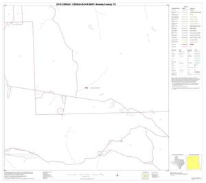 Primary view of object titled '2010 Census County Block Map: Kenedy County, Block 8'.