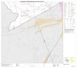 Primary view of object titled '2010 Census County Block Map: San Jacinto County, Block 15'.