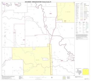Primary view of object titled '2010 Census County Block Map: Denton County, Block 25'.
