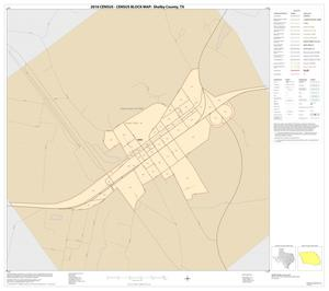 Primary view of object titled '2010 Census County Block Map: Shelby County, Inset B01'.