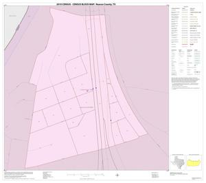 Primary view of object titled '2010 Census County Block Map: Nueces County, Inset A01'.
