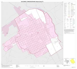 Primary view of object titled '2010 Census County Block Map: Bosque County, Inset J01'.