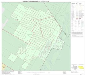 Primary view of object titled '2010 Census County Block Map: San Patricio County, Inset H01'.