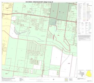 Primary view of object titled '2010 Census County Block Map: Hidalgo County, Block 97'.