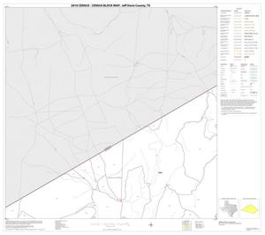Primary view of object titled '2010 Census County Block Map: Jeff Davis County, Block 4'.