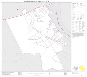 Primary view of object titled '2010 Census County Block Map: Bosque County, Inset D01'.
