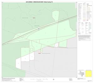 Primary view of object titled '2010 Census County Block Map: Parker County, Inset D01'.