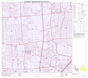 Primary view of object titled '2010 Census County Block Map: Harris County, Block 232'.