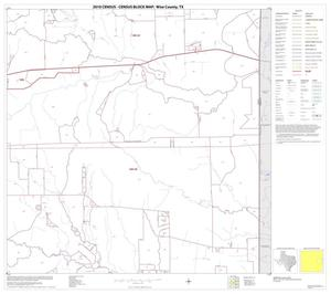 Primary view of object titled '2010 Census County Block Map: Wise County, Block 15'.