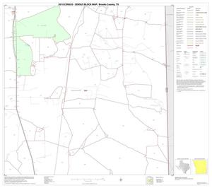 Primary view of object titled '2010 Census County Block Map: Brooks County, Block 10'.