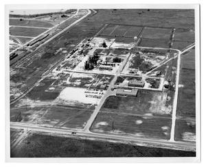 Primary view of object titled '[Aerial view of Allied Chemical Co.]'.