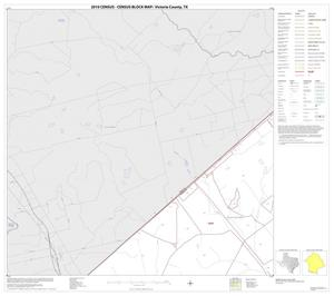 Primary view of object titled '2010 Census County Block Map: Victoria County, Block 1'.