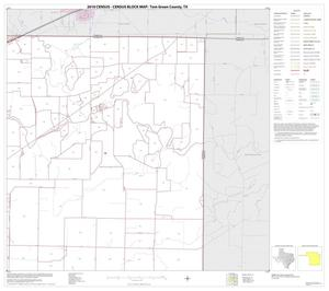 Primary view of object titled '2010 Census County Block Map: Tom Green County, Block 13'.