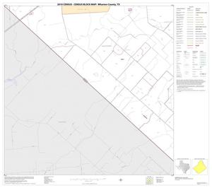 Primary view of object titled '2010 Census County Block Map: Wharton County, Block 36'.