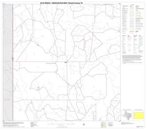 Primary view of object titled '2010 Census County Block Map: Dimmit County, Block 6'.