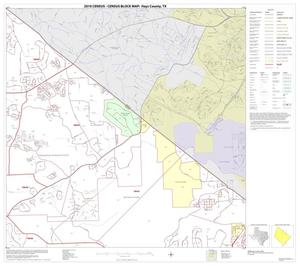Primary view of object titled '2010 Census County Block Map: Hays County, Block 5'.