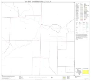 Primary view of object titled '2010 Census County Block Map: Dallam County, Block 11'.