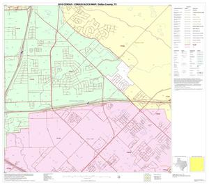 Primary view of object titled '2010 Census County Block Map: Dallas County, Block 53'.