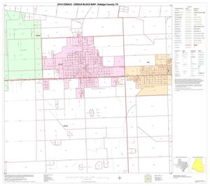 Primary view of object titled '2010 Census County Block Map: Hidalgo County, Block 79'.