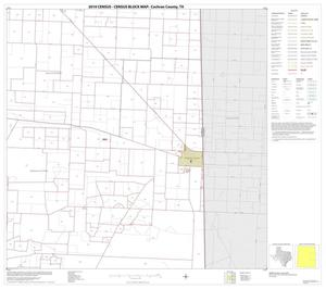 Primary view of object titled '2010 Census County Block Map: Cochran County, Block 6'.