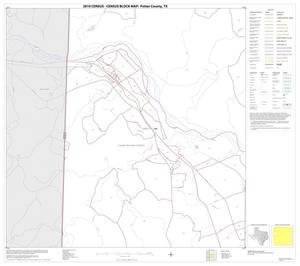 Primary view of object titled '2010 Census County Block Map: Potter County, Block 5'.